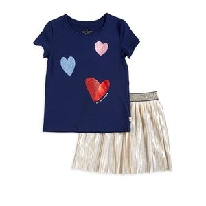 Kate Spade Girls Skirt Set NWT